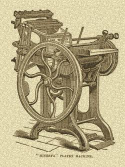 prve štamparske mašine