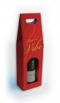 kutija za vino sa ruckom i prozorom