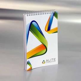 Promo blok sa spiralom A5 / Alite International