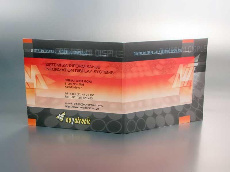 Novatronic - cd/dvd omot 2