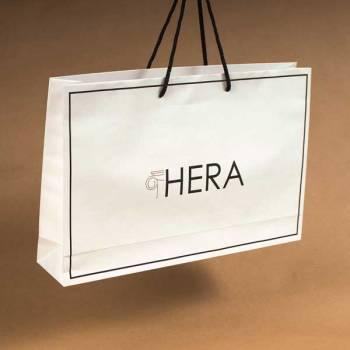 Eko kesa, beli natron 120 gr/m2, model eMB  / Hera