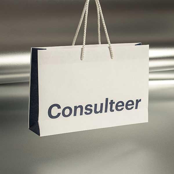 Consulteer / eko kese - prednja strana