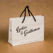 """eko kesa """"Ladies & Gentleman"""" (beli natron 100gr/m2)"""