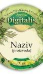 univerzalne etikete za apoteke, Digitalis