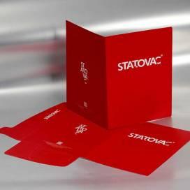 Brendirane kartonske fascikle / Statovac