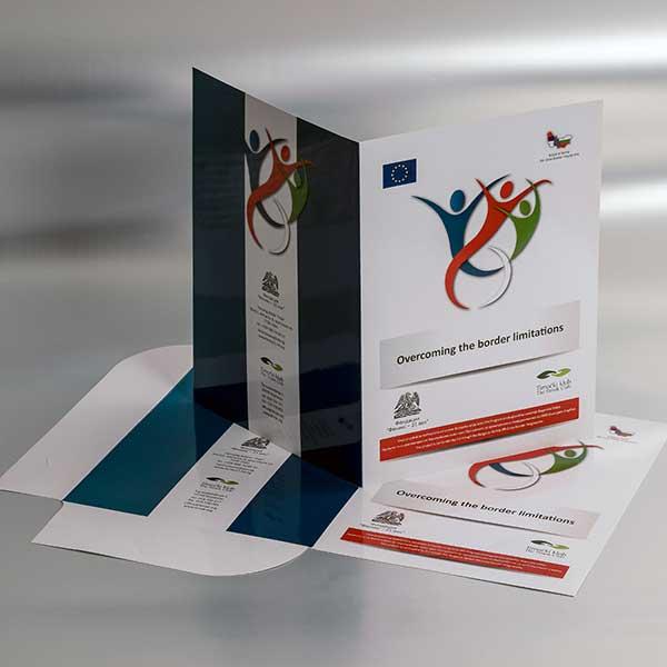 Brendirane kartonske fascikle / EU - prekogranična saradnja