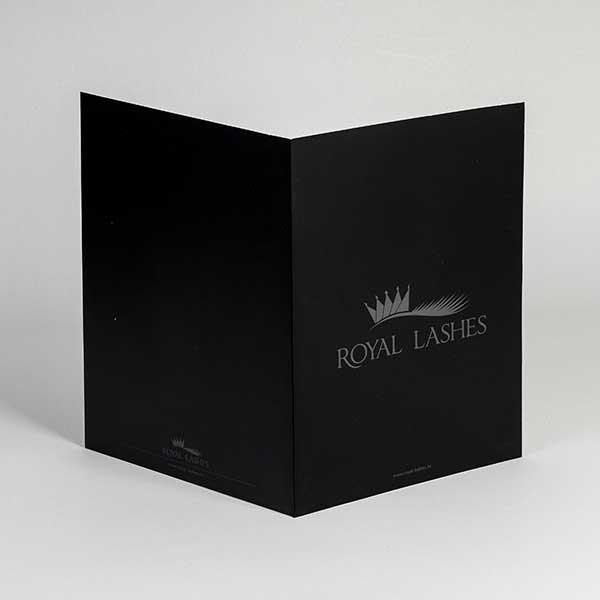 Brendirane kartonske fascikle / Royal-lashes