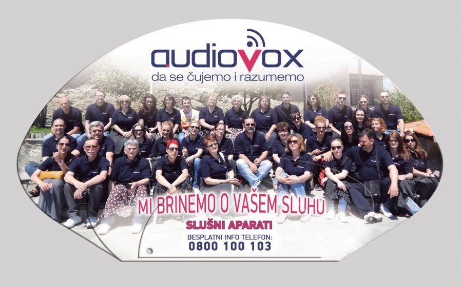 "Reklamna lepeza ""AudioVox"""