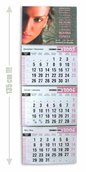 "Kalendar ""jumbo"" Bar Kod / Crna Gora"