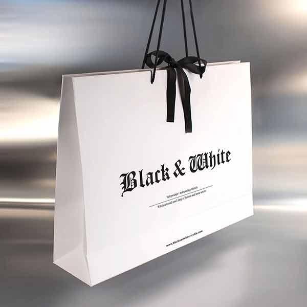Idejno rešenje, lux kese / Black & White (3D)