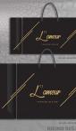 dve veličine luksuznih kesa / L'amour - fashion design