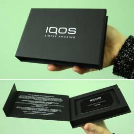Luksuzna kutija za poklon vaučere / IQOS (Bosna i hercegovina)