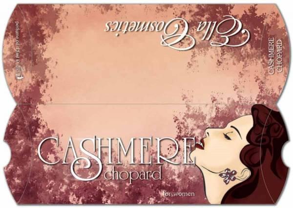 idejno resenje za pillow box - Kasmir, klijent Ella Cosmetics