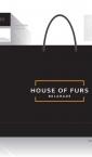 House of Furs / reklamne kese ' etikete za konfekciju+ vizit karte