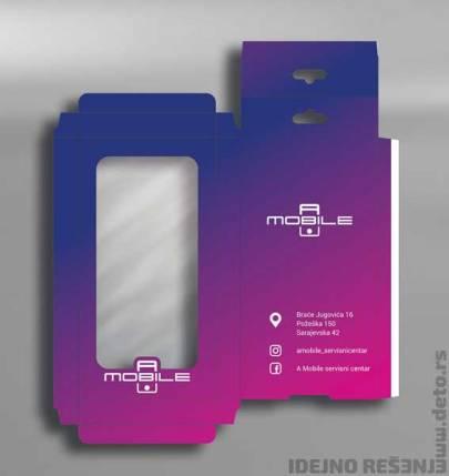 Mobile A / kutija za mobilne telefone (maske)