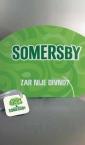 mockup lepeze / Somersby  (a)