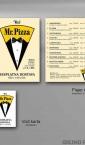 Idejno rešenje (dizajn) flajera i vizit karte / Mr_Pizza
