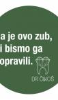 Dr Čikoš / nalepnice