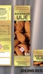 """Etiketa """"Bademovo ulje"""" (za staklenu flašicu) / Uvita"""