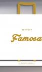 Famosa / xxl kesa sa ručkama od satena