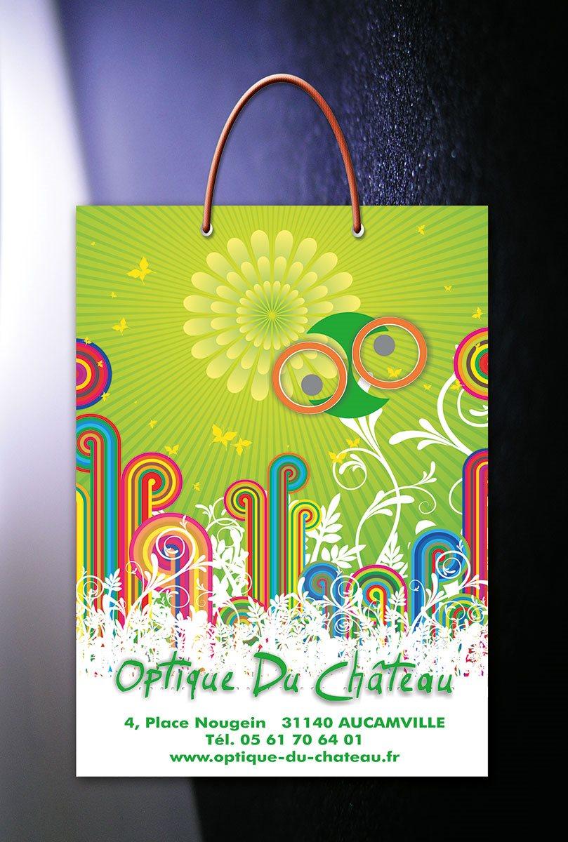 "idejno rešenje kese ""Optique De CHATEAU"" - Francuska"