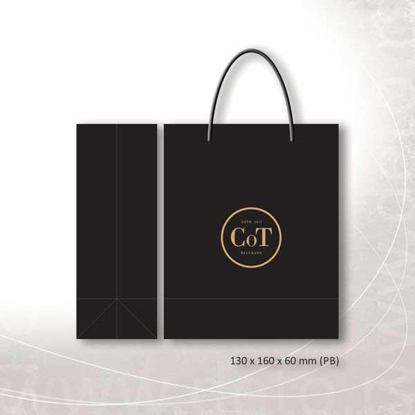 Cot (Grahovac) -idejno rešenje luksuzne kese, model PB