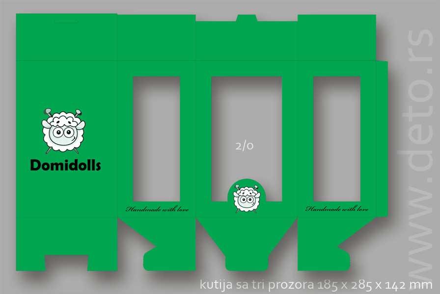 domidols  / kutija sa sa tri prozora (demo)