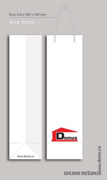 Domus / kesa za flašu (dve boje)