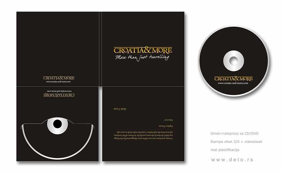 "dvostrani cd ""Croatia & More"" Zagreb, Hrvatska"