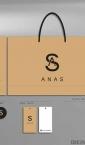Idejno rešenje, etikete, nalepnice i luksuzne kese - Anas Atelier