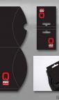 Idejno rešenje za pillow box i etiketu za čarape / Petrol_Qmax