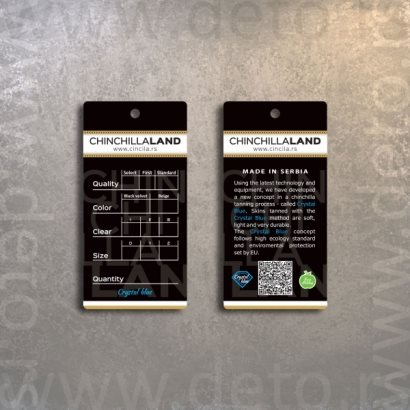 Cincillaland kaširane etikete