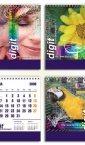 Idejno rešenje za stoni kalendar Digit Montenegro / Crna Gora