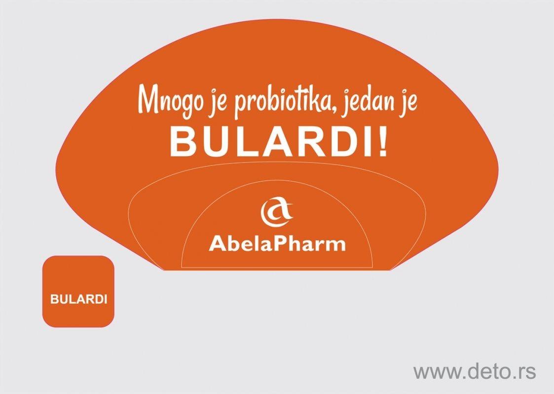 "Promo-lepeza za probiotik ""Bulardi"" za Abela Pharm"
