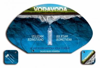 Voda Voda - promo lepeza