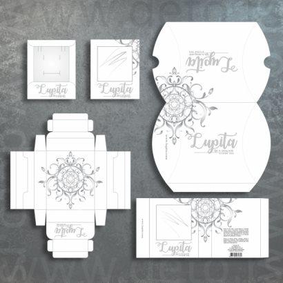 Lupita (Crna Gora) / ambalaža za srebrni nakit