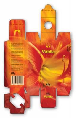 """Idejno rešenje parfemske kutije """"vanila"""""""