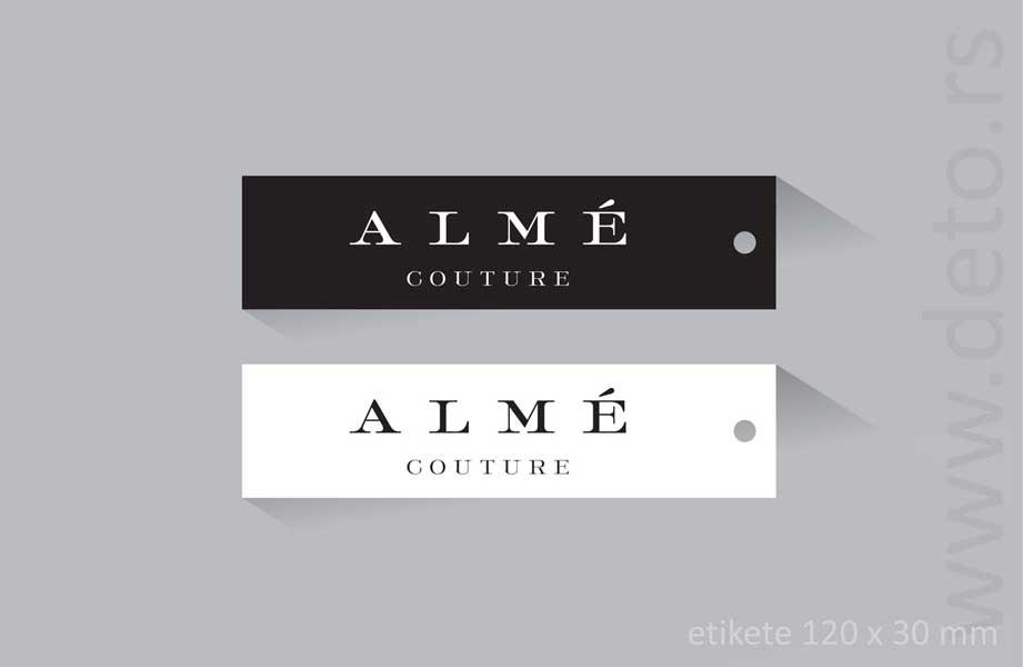 etikete alme (demo)
