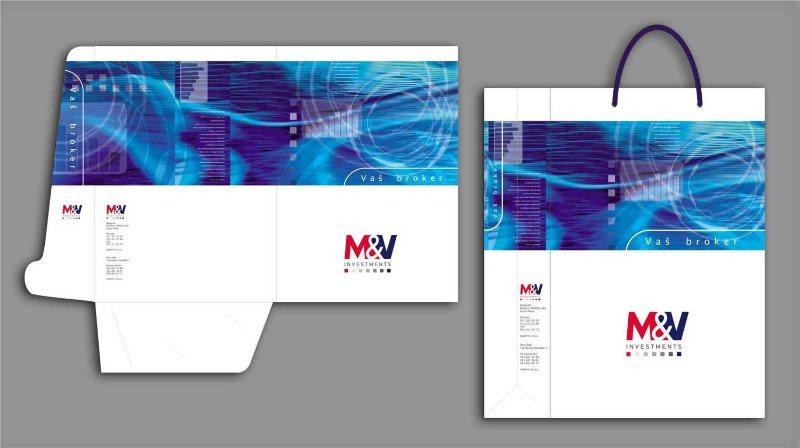 idejno rešenje fascikla, kesa / M&V investments
