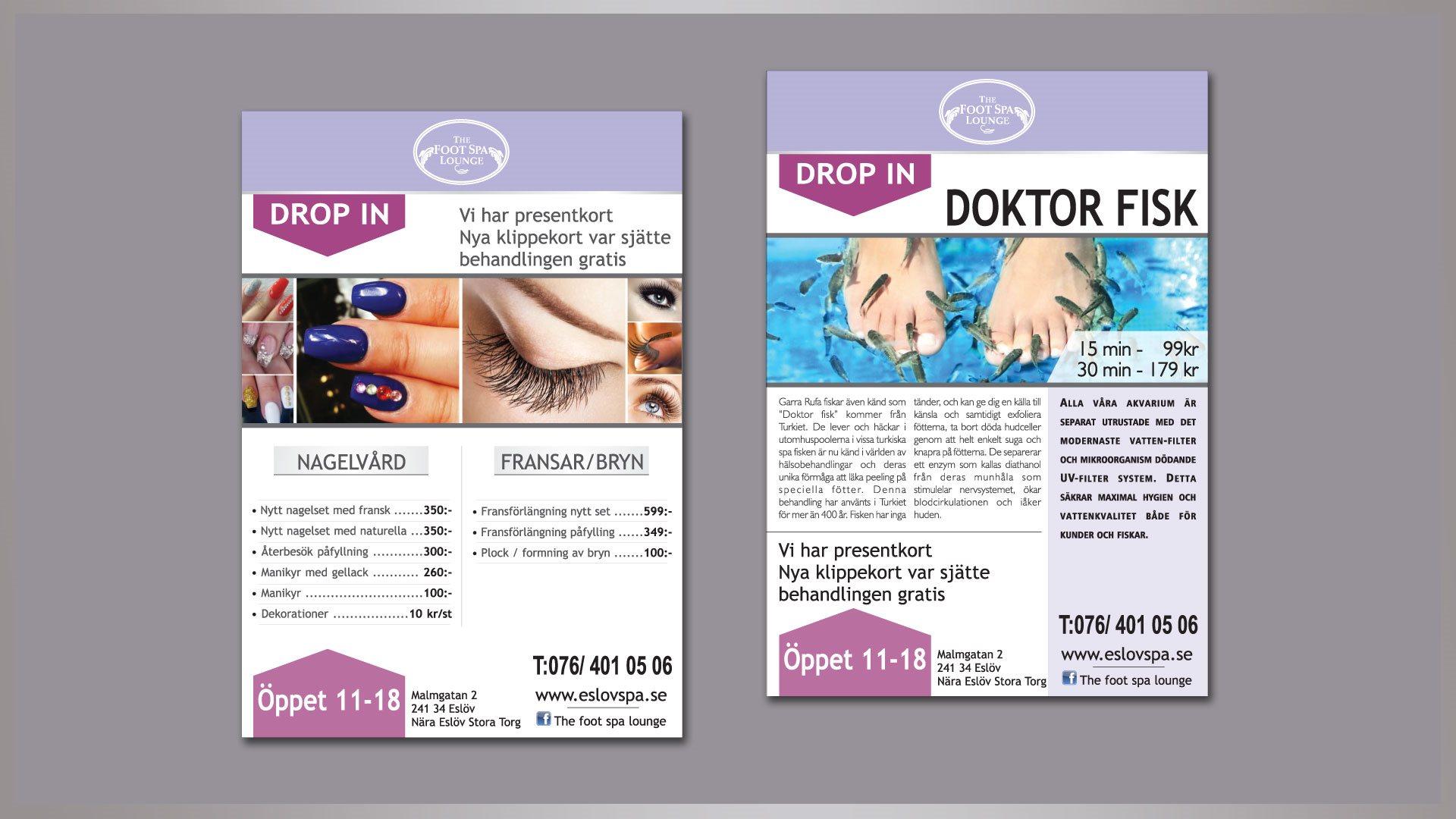 Flajer A5 / Doktor Fisk (Švedska)