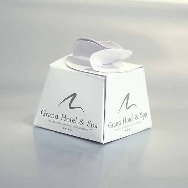 Idejno rešenje kutijice za praline (hotelski kompliment box) / Grand Hotel & Spa -3d