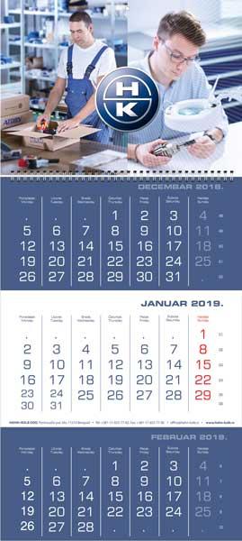 Poslovni kalendari za 2019. / v.1 / Hahn & Kolb