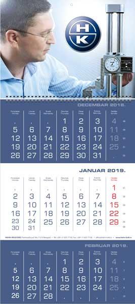 Poslovni kalendari za 2019. / v.2 / Hahn & Kolb