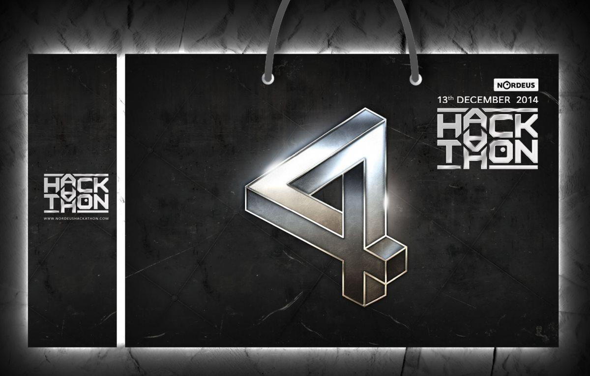 """Papirne reklamne kese """"Hakaton 4"""" (Nordeus)"""
