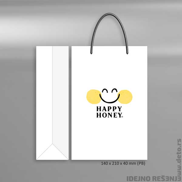 Happy Honey / reklamna kesa