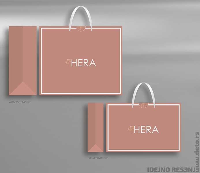 """Idejno rešenje """"Hera"""" / luksuzne reklamne kese"""