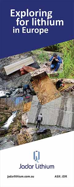 Idejno rešenje, poster 80x200cm (plakat, roll-up) - Jadar Lithium  (Australia)