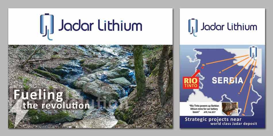 Idejno rešenje postera  / Jadar Lithium (Astralija) v2