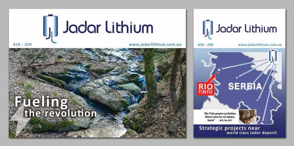Idejno rešenje postera  / Jadar Lithium (Astralija) v3