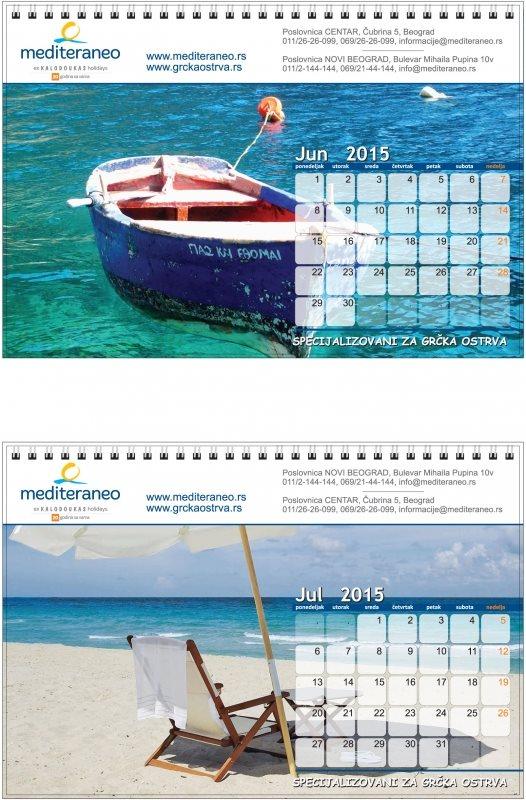 "Stoni kalendar ""Mediteraneo"""